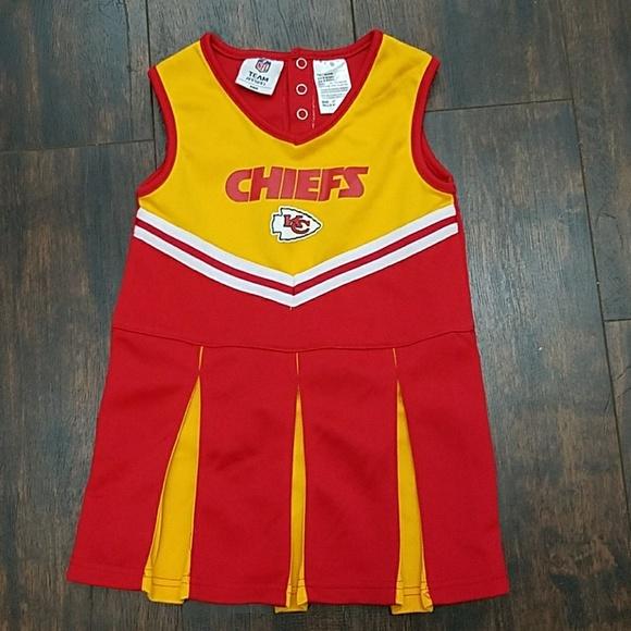 4fb5ae60 NFL Kansas City Chiefs cheerleader uniform dress 4